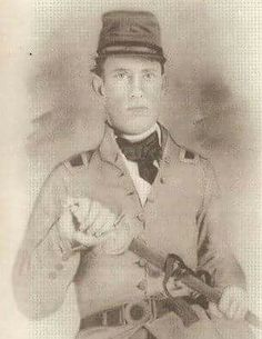 Major Laban Odell 22nd NC mortally wounded on May 3, 1863 at the Battle of Chancellorsville. From Randolph County.