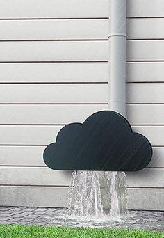 L'idée déco du dimanche : le nuage de gouttière