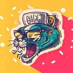 Guacala Collection Vol. 3 commission design projects on Behance Illustrators, Design, Illustrations Posters, Creative, Illustration Design, Design Projects, Digital Art Illustration, Art Icon, Monkey Art