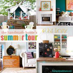 summer home ideas - the handmade home