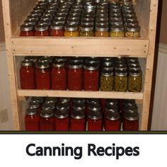 Click Pic To View Our Canning Recipes