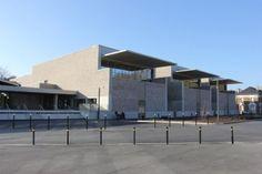 Maison des Arts et de la Vie associative à Epernay, Champagne Ardenne Giovanni Pace Architecte