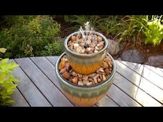 How to Build a Two-Tier Fountain - YouTube