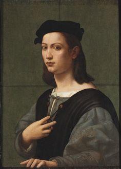 1500s Giuliano Bugiardini - Portrait of a young gentleman, half-length