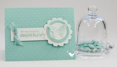 A lovely card by Angie featuring Papillon Potpourri, Delightful Dozen, & the Elegant Butterfly punch.