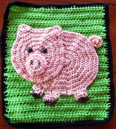 Knot Your Nana's Crochet: Pig
