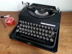 vintage typewriter - Olivetti MP1 - 1948 by mytypes on Etsy https://www.etsy.com/listing/206382403/vintage-typewriter-olivetti-mp1-1948
