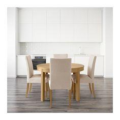 BJURSTA / HENRIKSDAL Stół i 4 krzesła  - IKEA