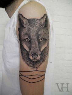 Tattoo by Valentin Hirsch at AKA.