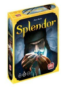 splendor is a game where you battle to become the most prestigious merchant - fun gift idea for tabletop game lovers.