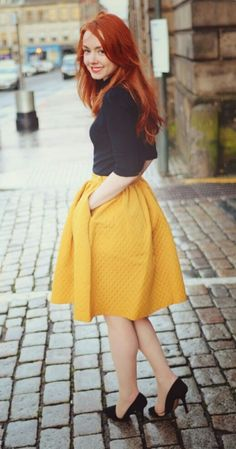 yellow skirt - I need a yellow skirt(especially to be snow white)!