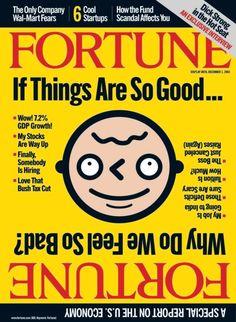Fortune, November 2003  Illustration: John Hersey, design director: Robert Newman