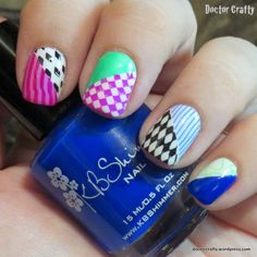 Mad Hatter-inspired Manicure