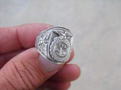 Silver FFA Ring for the late 1940's early 50's.  These are really cool and you can find them on ebay in all different conditions.
