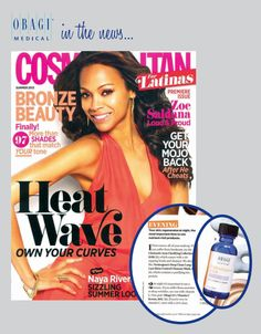 Do you suffer from manchas or deep wrinkles? Cosmo Latina suggests Obagi 15% Vitamin C serum at night as a solution. http://obagi.com/sites/default/files/news/docs/cosmo-latina-obagi.pdf