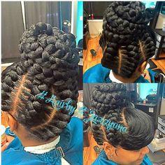 Underbraids / Goddess Braids - My natural hair Under Braids, Big Braids, Braids With Curls, Braids With Weave, Braids For Kids, Girls Braids, Dutch Braids, Black Braided Hairstyles Updos, Cool Hairstyles