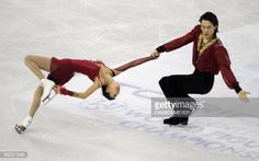 China's Qing Pang and Jian Tong perform to win gold in the Pairs free skating competition of the World Figure Skating Championships on March 24, 2010 at the Palavela ice-rink in Turin. AFP PHOTO / DAMIEN MEYER (Photo credit should read DAMIEN MEYER/AFP/Getty Images)