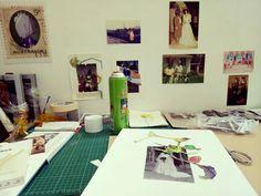 New studio! Curtin university Artist in Residence 2017