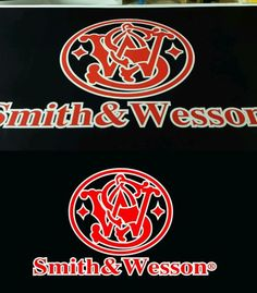 Decals And Stickers Smith And Wesson Banner Firearms Full - Custom vinyl stickers ebay