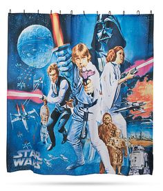 Includes Shower Curtain 12 Hooks The That Are Included Help Star Wars