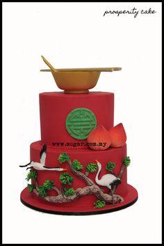 Chinese Prosperity Cake