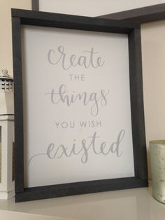 Create the things you wish existed Premium by ThePrettyPallets Make Your Own Sign, How To Make, Better Books, Pallet Signs, Wish, Garage, Glitter, Create, Handmade Gifts