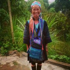 Hmong woman in Sapa, Vietnam Sa Pa, Southeast Asia, Trekking, Backpacking, Vietnam, Bomber Jacket, Hiking, Explore, Woman