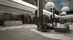 Le Méridien Istanbul Etiler—Lobby by LeMeridien Hotels and Resorts, via Flickr