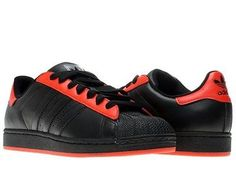 44e941d2c95 Adidas Superstar 2 Low Black Red Mens Basketball Shoes V24477 Size 14  Snicker Shoes