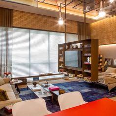 Um espaço, uma ideia, três ambientes. Soluções inteligentes!