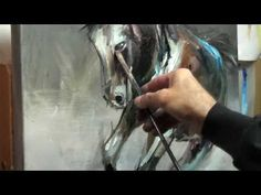 How to Oil Paint- Representational Horse Demonstration - YouTube