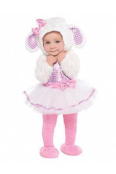 Infants Little Lamb New Cute Kids Baby Girl Childrens Fancy Dress Outfit Costume