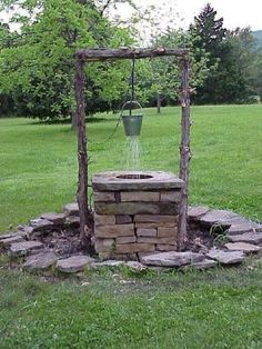 How To Build A Wishing Well Fountain