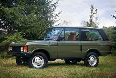 Simply stunning! By @areteautomobili #rangeroverclassic2dr #rangerover #landrover #landroverphotoalbum