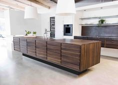 Form 1 // Smoked Oak Kitchen by Multiform Timber Kitchen, Bohemian Kitchen, Luxury Kitchen Design, Kitchen Gallery, Professional Kitchen, Black Kitchens, Minimalist Interior, Kitchen Furniture, Dining