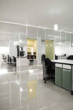 Genesis Technology Group's Mirrored Dhaka Office