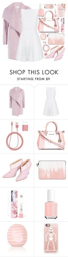 """Untitled #40"" by tiaraputri174 ❤ liked on Polyvore featuring Vince, Polo Ralph Lauren, PhunkeeTree, MICHAEL Michael Kors, Givenchy Haute Couture, Casetify, LAQA & Co., Essie and Topshop"