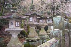 1000 Images About Japanese Stone Lanterns On Pinterest