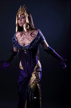 Liliana from Magic: The Gathering Cosplay http://geekxgirls.com/article.php?ID=3192