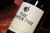 The Pepper Pot - a Syrah blend that has true Rock Star qualities. Wine Cellar, Wine Tasting, White Wine, Wines, Social Media, Stuffed Peppers, My Favorite Things, Bottle, My Love