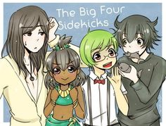 Sidekicks? Don't you mean Friends! (Angus, Baby-tooth, pascal, and Toothless)