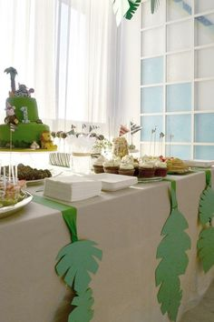 Jungle party_sweets