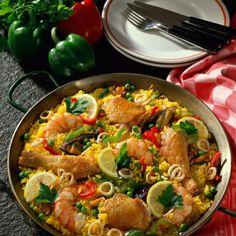 Andalusische Paella Rezept | LECKER