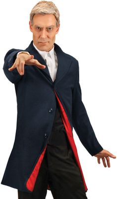 doctor who 12th doctor sm/medium costume