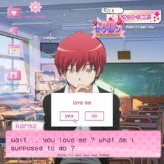 Karma Kun, Dating Simulator, Baby Pink Aesthetic, Kawaii, Cute Anime Guys, Cute Cartoon Wallpapers, Cute Icons, Funny Memes, Fan Art