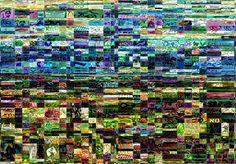 Studio Artist - Factory Settings - Mosaic Movie Brush - Graffiti12 City Photo, Mosaic, Studio, Artist, Movies, Films, Mosaics, Artists, Studios