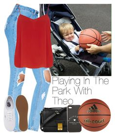"""""""Playing In The Park With Theo <3"""" by storyofmylife1danita-scream ❤ liked on Polyvore featuring Dorothy Perkins, Vans, 3.1 Phillip Lim and adidas"""