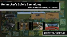 Minecraft Video Selection [PS3 / WII U]