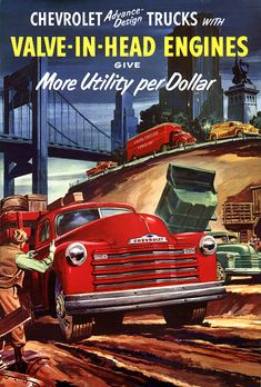 1952 Chevrolet Valve-in-Head Trucks