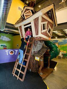 Cute scene from KiDiMu! The kids museum on Bainbridge Island.